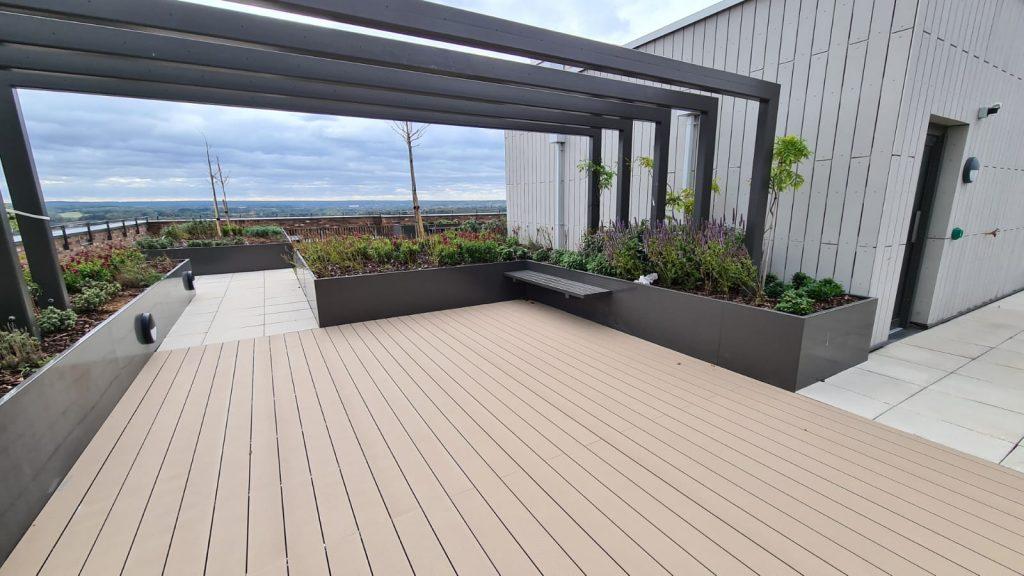 Alfresco Floors | AR-Deck - A-rated aluminium decking system
