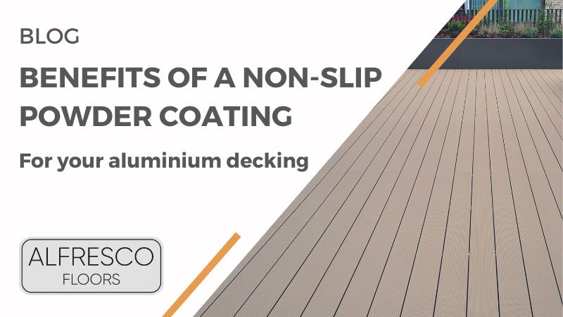 Header image for blog - benefits of a non slip powder coating